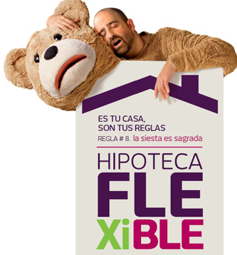 cartel de hipoteca flexible